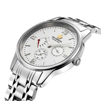 MG.ORKINA Men Clock Stainless Steel Band Japan Movement Day Date Male Analog Quartz Watch Chronograph Horloges Mannen Waterproof - DISCOUNT ITEM  39% OFF All Category