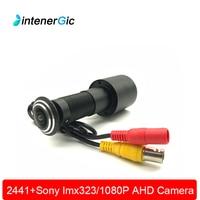 2.0M 1080P Door Eye AHD Peephole CCTV Color Camera SONY IMX323 Sensor 0.0001 Lux 170 Degrees Video Cat Eye Home Security Camera