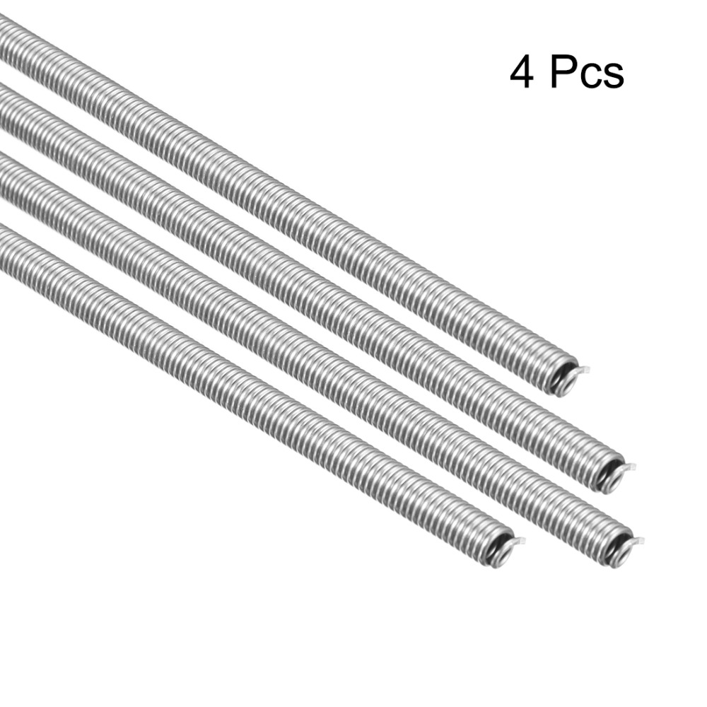 Uxcell 4pcs AC220V 3000W 2500W 1200W Kiln Furnace Heating Coils Heater Wire High Resistance Restring Heating Element Coil 820mm