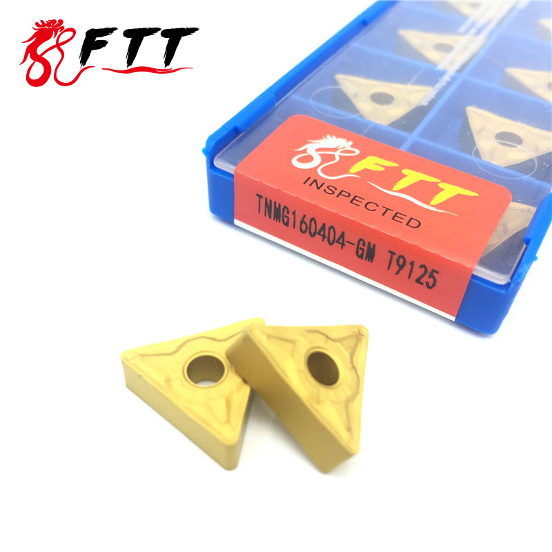 TNMG160404 GM T9125 External Turning Tools Carbide insert High quality Lathe cutter steel CNC tool|Turning Tool| |  - title=