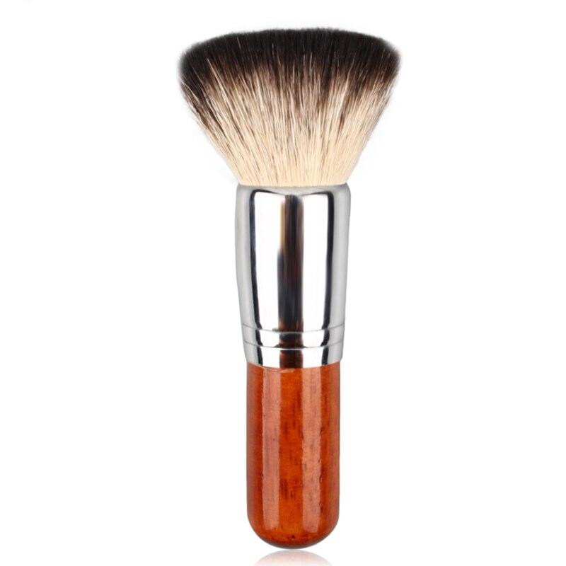 BBL 1 piezas de pelo de cabra de maquillaje cepillo suelto/polvo compacto cepillo Blush maquillaje herramientas pulido calidad Premium Brochas maquillaje