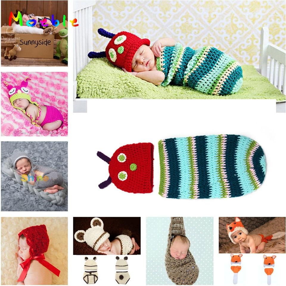 √Crochet los sombreros del bebé oruga sombreros del ganchillo y ...