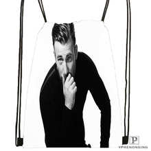 Custom chris evans actor guy DrawstringBackpackBagforMan Woman Cute Daypack Kids Satchel Black Back 31x40cm 20180611 03