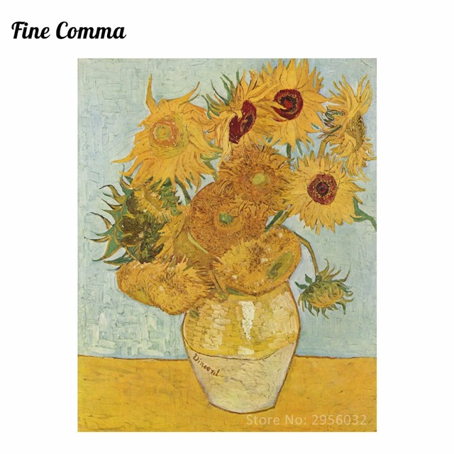 Sonnenblumen 3rd Version 1888 By Vincent Van Gogh Handgemalte