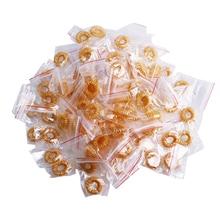 100 stücke Finger Massage Ring Akupunktur Akupressur Gesundheit Pflege Körper Entlasten Müdigkeit Schmerzen Relief Stress Relief Helfen Schlaf Werkzeuge