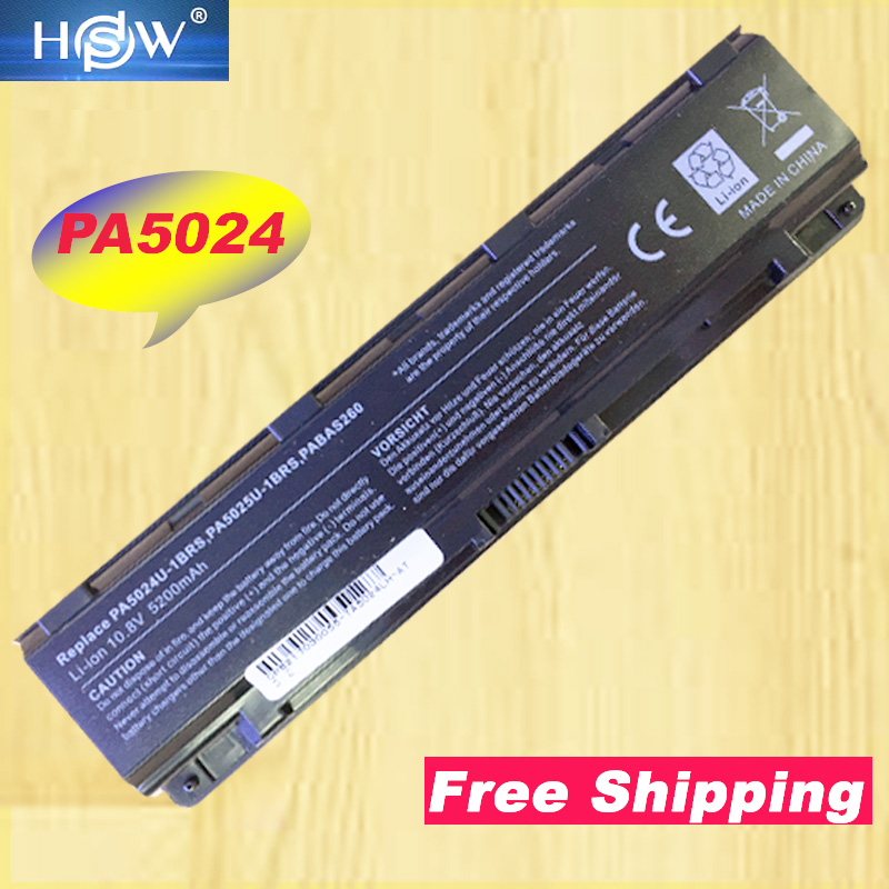 HSW Laptop Battery For <font><b>Toshiba</b></font> <font><b>Satellite</b></font> C800 C840 C850 C870 L800 L830 L840 L850 L870 M800 <font><b>M840</b></font> P800 P840 P850 P870 C855 image