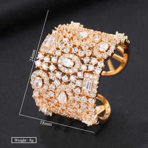 Image 5 - GODKI יוקרה מעוקב Zirconia טבעות נישואים לנשים כלה אירוסין חתונת תכשיטי CZ Femmale אביזרי כל אצבע טבעות