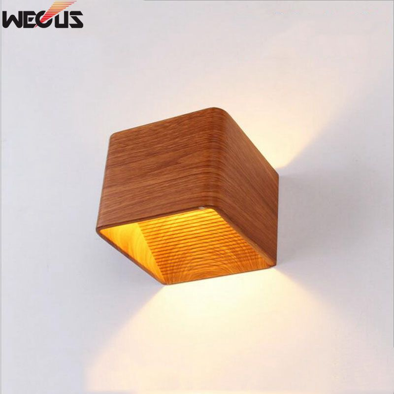 (WECUS) free shipping, Chinese style, creative LED wall lamp, living room / bedroom bedside lamp, 3W 10*10*10CM, XJ-BD-11 Свет