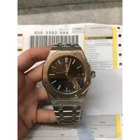 U1 factory AAA luxury men's watch ROYAL OAK series 41MM black dial high quality casual fashion sapphire glass mirror wristwatch