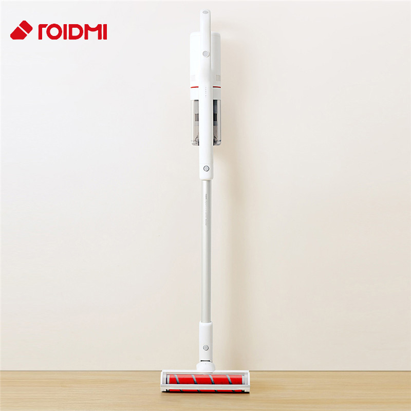 Original Roidmi F8 Low Noise Handheld Vertical Vacuum Cleaner APP Control Dust Collector Household Bluetooth LED