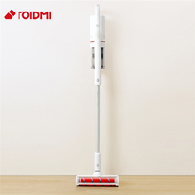 Original Roidmi F8 Low Noise Handheld Vertical Vacuum Cleaner APP Control Dust Collector Household Bluetooth LED Anti mite Brush