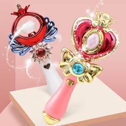 1 шт. волшебная палочка для девочек, игрушка для игры, волшебная осветительная трость, обучающая игрушка для костюмированного