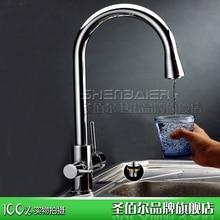 За три кухня кран с чистой водопроводной воды холодной и горячей воды прямой питьевой воды коснитесь способен вращаться Многофункциональный