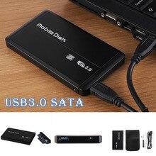 Быстрая Скорость USB3.0 SATA SSD коробка SATA случаях 2,5 «жёсткий диск Alluminio внешний корпус ноутбука жесткий диск для Windows/Mac os