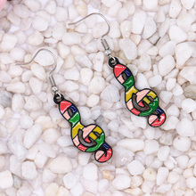 New Fashion Music Symbol Earrings