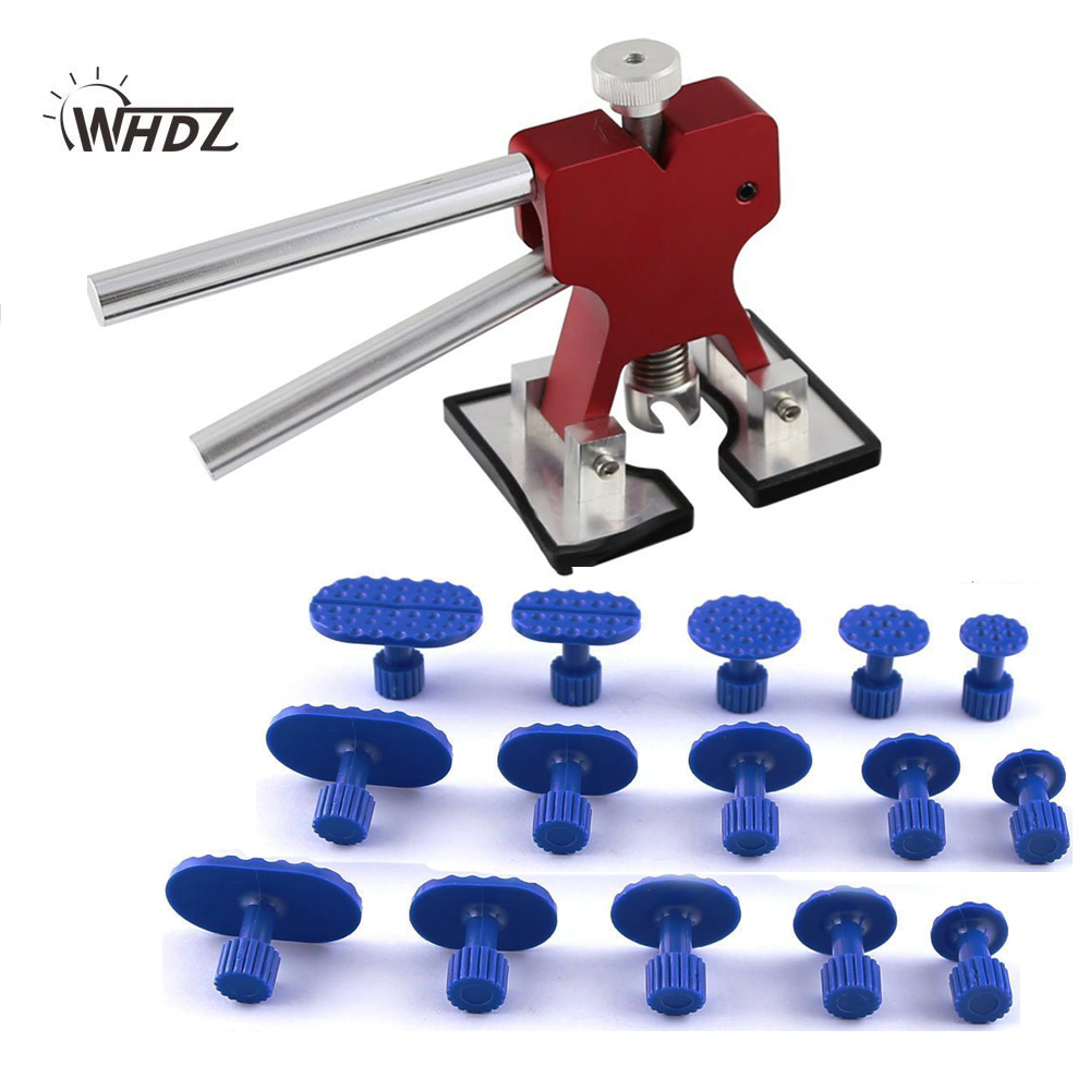 PDR Tool Dent Lifter Glue pulling Tabs Puller Paintless Dent Repair Tools Hand Llifter with 15 pieces Glue Tabs  цены