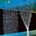 3 M x 3 M 300 LED xmas Fada Cordas Festa de Natal Ao Ar Livre Luzes Da Cortina de Casamento 8 Modos de Iluminação