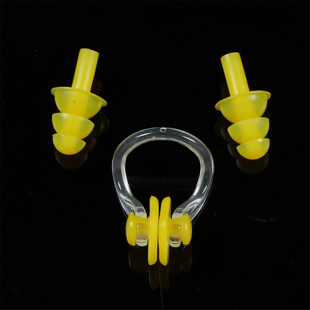 Nose Clips and Earplugs 3 pcs/Set