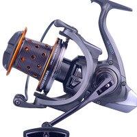 GK10000 Metal wire cup Anchor fish wheel Ultralight Stainless steel bearing Lake fishing Spinning wheel Braking force 10 15 kg
