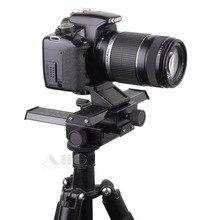 DSLR Rig Metal Two way Adjustment Camera font b Tripod b font Head Fits for Lens