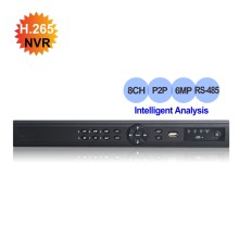 Smart Security 8CH 6MP NVR HD 4K HDMI 1080P VGA output H.265 Network Video Recorder onvif P2P motion detection Face detection(China)