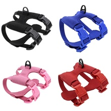 Pet Adjustable Vest Harness for Small Dogs and Cats High-quality Cat Travel Accessories Chest Belt XS/S-- Pink Black Red Blue