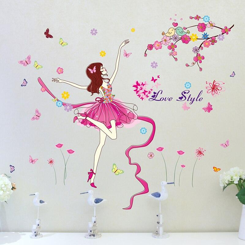 [SHIJUEHEZI] Балет әртісі Wall Sticker - Үйдің декоры - фото 5