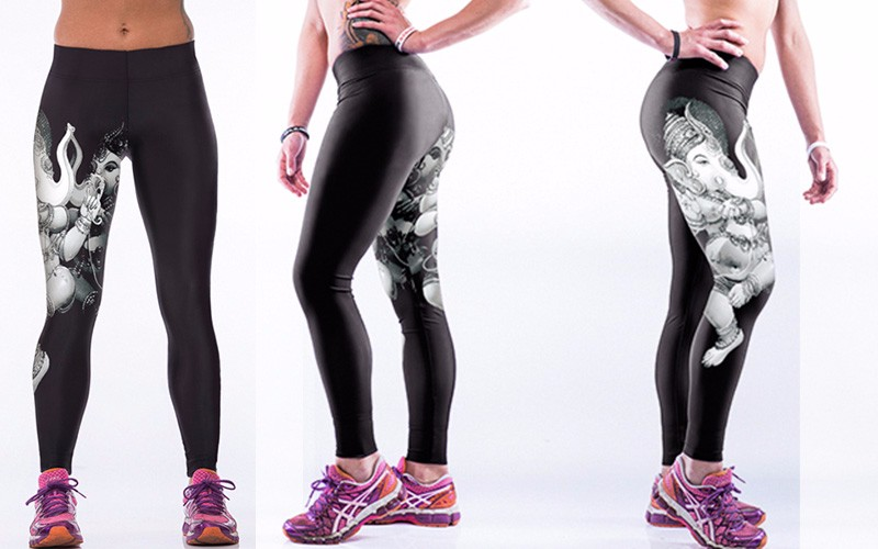 JLZLSHONGLE Tiger Slim Leggings 17