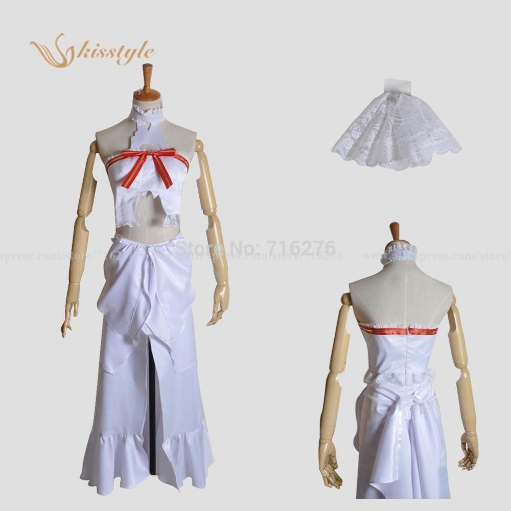Kisstyle Fashion Sword Art Online Asuna Yuuki ALO Fairies Dance La Ronde des Lutins cosplay costume made