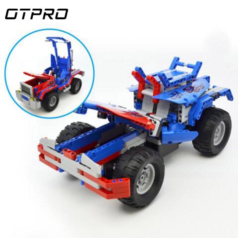531 pièces blocs de construction briques Technic City 2 en 1 Transformable Optimuse Prime véhicule RC camion voiture modèle pour garçon