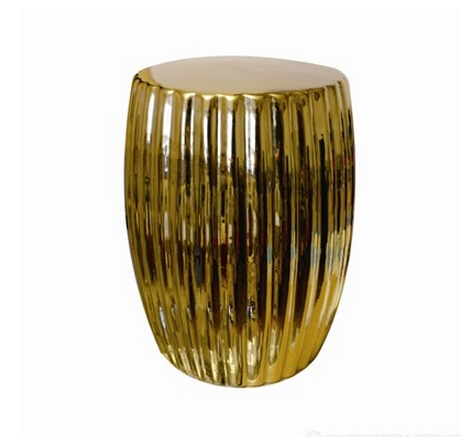 Chinese antique ceramic gold garden stool seat for indoor and outdoor decor chinese antique ceramic silver garden stool seat for indoor and outdoor decor