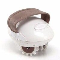 US EU UK Compact Size 3D Mini Facial Kneading Massage Roller Electric Anti Cellulite Control System