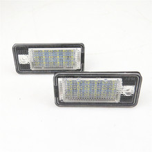 READXT 1 пара 12 В светильник светодиодный номерной знак свет Автомобильные аксессуары огни для A4 S4 A6 C6 A3 S3 s4 B6 B7 S6 A8 S8 Rs4 Rs6 Q7