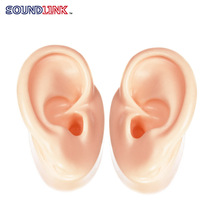 Free shipping(2 pcs/lot) Silicon Ear Education Model Ear Model for Hearing Aid Demo Ear For Shop Window Display