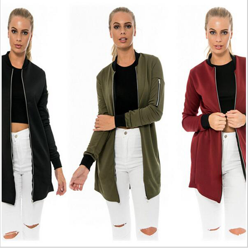 Popular Longline Jacket Women-Buy Cheap Longline Jacket Women lots ...