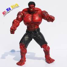 Red Hulk The Super Hero 28 Cm Pvc Action Toy Figures Model Collection Toys Children Toys(China)