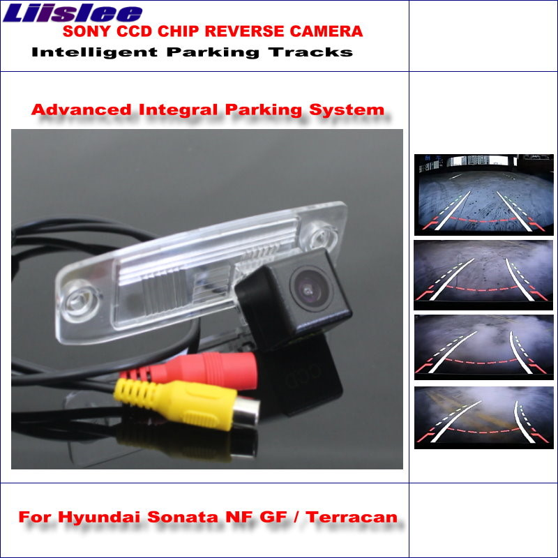 Liislee 860 Pixels Car Rear Back Up Camera For c / Terracan Rearview Parking Dynamic Guidance Tragectory