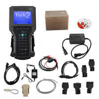 Para a GM Tech2 Auto Scanner para GM/Saab/Opel/Isuzu/Suzuki/Holden Tecnologia 2 Frete 32MB Software Cartão