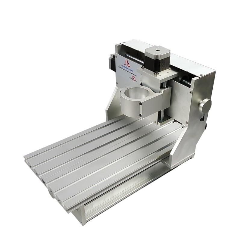 Le plus nouveau cadre de routeur de CNC en aluminium 3020 de la Machine de forage et de fraisage de gravure de graveur avec la fabrication d'usine de moteur