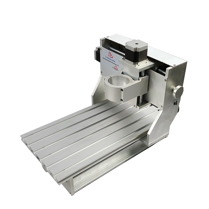 Newest 3020 aluminum CNC router frame of Engraver Engraving Drilling and Milling Machine with motor factory manufacture
