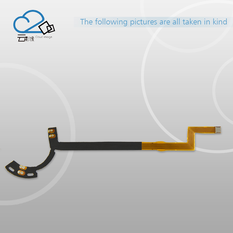 2PCS/ NEW Lens Aperture Flex Cable For TAMRON 90mm 90 mm Repair Part (For CANON Connector)