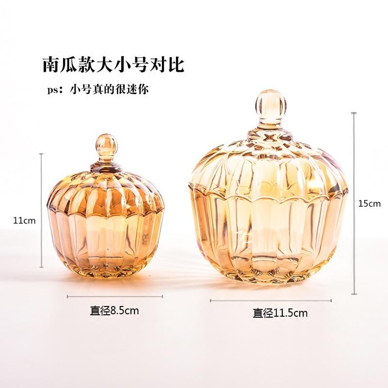 Eenvoudige mode snoep jar kleur glazen pot koffiebonen suiker blikjes - Home opslag en organisatie - Foto 5