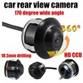 High quality HD 360 degree 18.5mm drilling car rear view camera 170 degree wide angle reversing backup Parking Assistance
