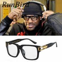 Lebron James lunettes De soleil hommes femmes marque Designer lunettes De soleil célébrité Hip Hop lunettes De soleil hommes Steampunk Oculos De Sol R098