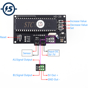 Image 1 - DC 5V Soil Humidity Sensor Moisture Controller Automatic Watering Relay Module