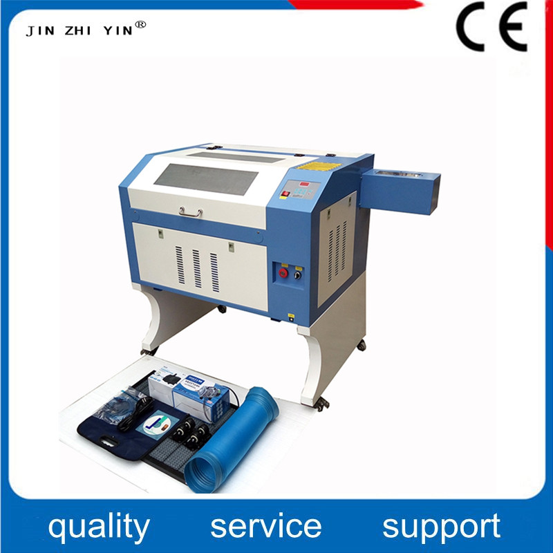 80W Laser Engraving Cutter Machine Laser Engraver Machine 4060 For Wood Plywood Leather Caving Free Shipping Cost