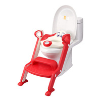 Baby Potty Seat Ladder Children Toilet Seat Cover Kids Toilet Folding infant potty chair Training Portable