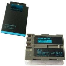 SOULMATE EN-EL3E lithium batteries pack EN EL3e Digital Camera Battery EL3e For Nikon ENEL3E EN EL3E D30 D50 D70 D90 D70S D300
