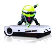 DLP Projector 1280*800 Native Resolution 3D Smart Multimedia Cinema 2D Convert 3D Support 1080P 1920*1080 Full HD Projector