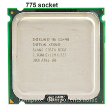 INTEL XEON E5440 ПРОЦЕССОРА INTEL Процессор E5440 (2.83 ГГц/12 МБ/1333 МГц/Quad Core) ПРОЦЕССОР работать на LGA775 g41 материнская плата